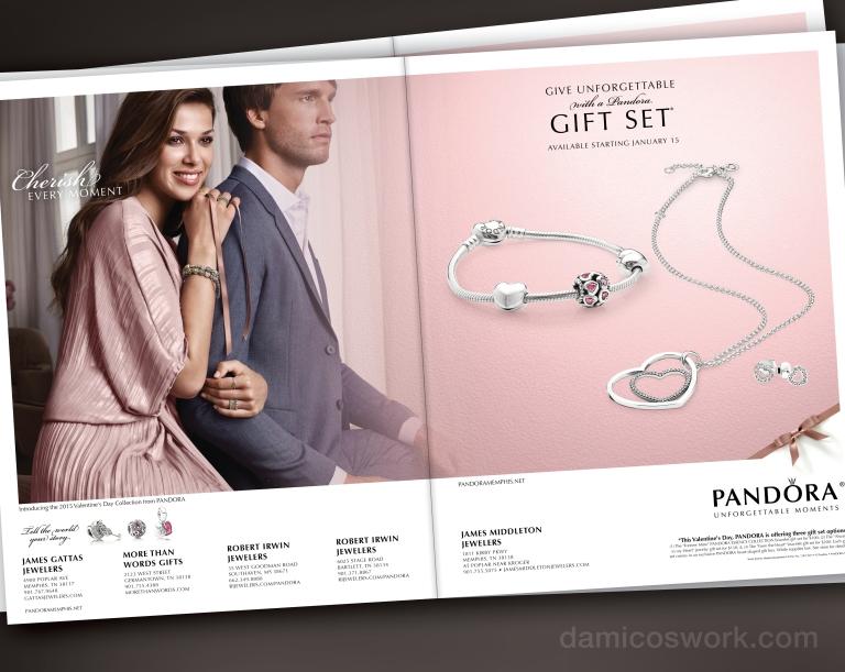 Pandora Print Ad